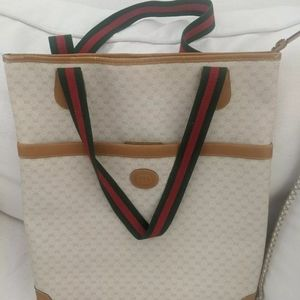 Gucci Authentic Vintage Large Tote